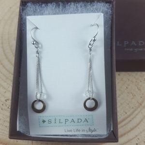 Sterling silver Silpada dangle earrings
